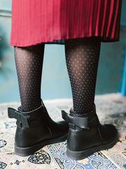 Зимние ботинки с бантиками